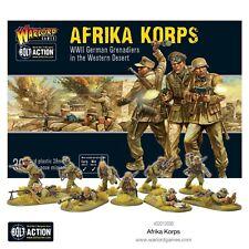 28mm Warlord German Afrika Korps, (Hard Plastic), Bolt Action WWII BNIB