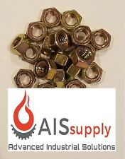 "(200) 5/16""-18 Hex Nuts, Yellow-Zinc"