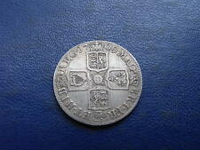 Queen Anne Silver Shilling, 1709