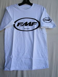 """FMF  tee t shirt MENS SMALL """"FACTORY CLASSIC DON"""" wht/blk SP6118998-WHT-S"""