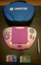 LEAP FROG LEAPSTER WITH 2 x GAMES AND CARRY CASE