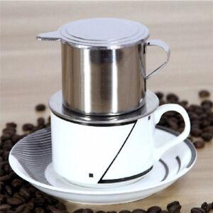 Stainless Steel Vietnam Vietnamese Coffee Simple Drip Filter Maker Infuse YU UM