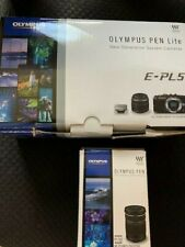 Olympus E-PL5 W Zoom Kit Mirrorless Interchangeable-Lens Camera- INCLUDES 2 LENS