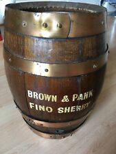 More details for 🟤brown and panks sherry barrell wood