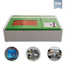 40W CO2 USB gravure laser couper Machine Graveur TRAVAIL DU BOIS MÉTIERS laser