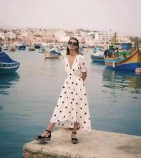 New Maeve Breanna Polka Dot Wrap Dress Size 0