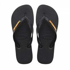 Havaianas Women Flip Flops Logo Metallic Casual Style Slipper Beach 4127244-1069