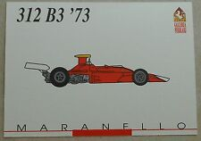 Ferrari Galleria 1992 312B3 F1 1973 Card Karte brochure prospekt book buch press