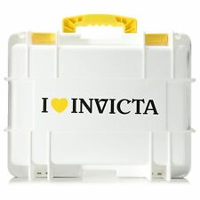 Invicta Men's Eight 8 Slot  White Dive,Diver Box Case Watch,New
