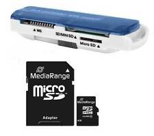 4 GB Micro SDHC Speicherkarte inkl. SD Adapter inkl. USB Cardreader