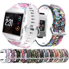 Replacement Band Pattern Strap for Fitbit Ionic Wristband Metal Schnalle Tracker