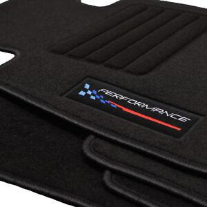 Fußmatten passend für BMW 5er E60 E61 ab Bj.2003 -2011 Velours Logo Autoteppiche