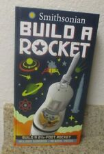 Smithsonian build a rocket kit 2 1/2 foot rocket complete new