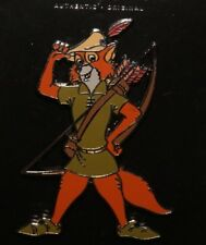 Disney Robin Hood Standing Bow and Arrow Character Pin New on Card