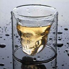Skull Transparent Crystal Glass Beer Tea Wine Whiskey Cup Skeleton Drinkware Mug