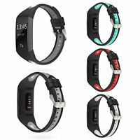 Watch Band Replacement Silicone Breathable Wrist Bracelet for Fitbit Charge 3
