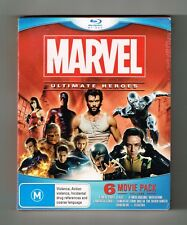Marvel Ultimate Heroes (6-Movies Collection) Blu-ray 6-Disc Brand New & Sealed