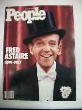 PEOPLE MAGAZINE July 6, 1987 Fred Astaire Memorial Issue