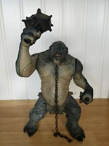 Lord of the Rings Electronic Cave Troll action Figure, LOTR, Toybiz, 2001
