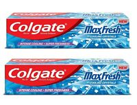Colgate Max FreshToothpaste Super Freshness  Coo Peppermint Ice 150g Pack of  2