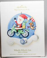 Hallmark - Spin-A-Majigs- Wheely Wheely Fun - 2008 Ornament