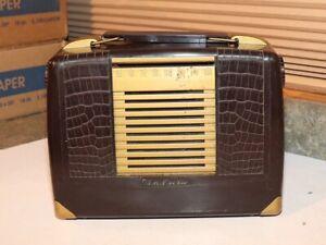 RCA Victor Portable Radio - Model BX-57