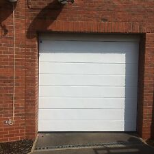 RIBBED SECTIONAL GARAGE DOOR 20mm Insulated Cheap Deal Bargain Full Seals Inc