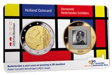 Nederland coincard 2 euro 2020 MONDRIAAN holland coin fair
