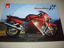Honda CBR1100 XX sales brochure