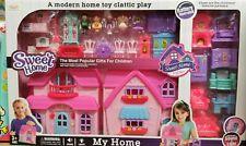 Brand New Kids Children Doll Villa House Play Set Flashing Light Music Xmas Gift