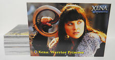 COMPLETE SET! 2001 Rittenhouse Xena Seasons 4 and 5 Base Card Set #1-72