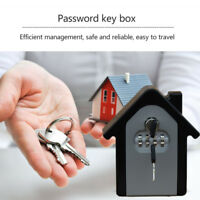 Key Safe Lock Box Outdoor Storage with Code Combination Password House Security