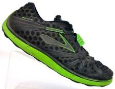Brooks Pure Grit Green Trail Running Shoes Hiking Minimalist Lace Up Men's 14