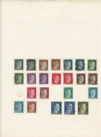 germany stamps page ref 17549