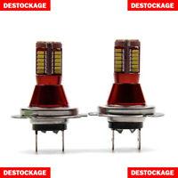 2 AMPOULES LED H7 PUISSANT 57 SMD BLANC PUR AMPOULE EFFET XENON FEU PHARE