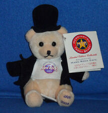 HERRINGTON TEDDY BEARS - HARD ROCK CAFE - HAPPY NEW YEAR! LTD ED. - 2004 JAPAN