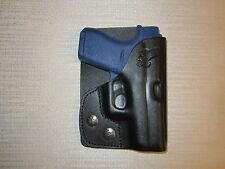 GLOCK 42  380 cal. FORMED LEATHER, LEFT HAND, wallet and pocket holster