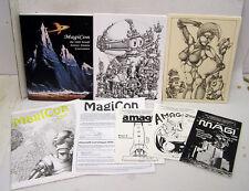 1992 50th World SF Convention MAGICON Program Book & MORE (M1066-FD)