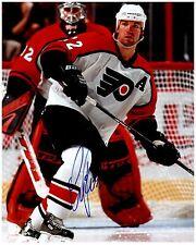 Philadelphia Flyers LUKE RICHARDSON Signed Autographed 8x10 Pic C