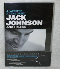 Jack Johnson and Friends A Weekend At The Greek Taiwan DVD w/OBI