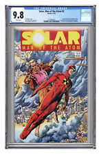 Solar, Man of the Atom #3, CGC 9.8 with white pages.