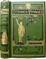 RARE 1878 A NARRATIVE OF THE VOYAGES ROUND THE WORLD BY CAPTAIN JAMES COOK