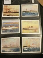 Famous British Liners (1934) Wills Cigarette Cards - Buy 2 & Save
