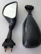 Carbon Fiber Racing Mirrors For 2003-2004 Kawasaki ZX-6RR ZX-6R 636