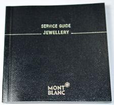 Original Mont Blanc Jewellry Catalogue, Germany (# x4926)