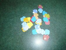 200 Stampin Up Cupcakes Paper Die Cut Punches Confetti Party