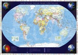 Our world Schmidt Jigsaw puzzle 2000 pieces map of the world puzzle 57041