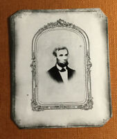 tintype Of President Abraham Lincoln Civil War  C1127RP