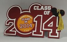 Brand New Disney Mickey Graduation Class 2014 Magnet Picture Frame