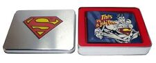 DC Comics - Superman Geldbörse - This is a Job for - verpackt in einer Blechbox